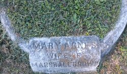Mary Agnes Brown