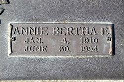 Annie Bertha <i>Eugster</i> Woodmansee