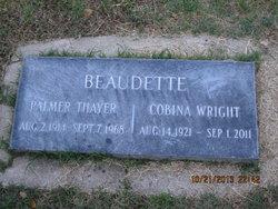 Cobina Carolyn <i>Wright</i> Beaudette