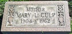 Mary L <i>Coleman</i> Culp