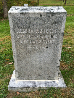 Almira C. <i>Backus</i> Spaulding