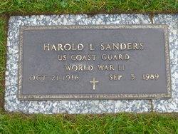 Harold L Sanders