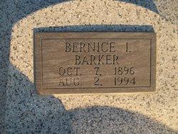 Bernice I. <i>Henry</i> Barker