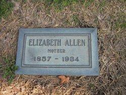 Elizabeth <i>Slocum</i> Allen