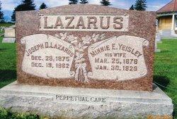 Minnie Elizabeth <i>Yeisley</i> Lazarus