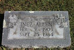 Inez <i>Broadhurst</i> Allen