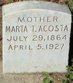 Marta T Acosta