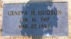 Geneva <i>Helms</i> Hudson
