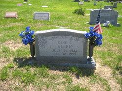Sgt Gene E. Allen