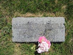 Mary B. <i>Snead</i> Haskell
