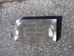 Mathew Pope