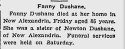 Francis D Dushane