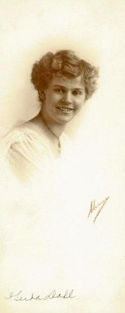 Gerda E <i>Johnson</i> Dahl
