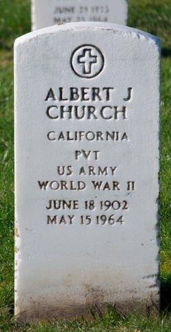 Albert J Church
