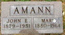 Mary <i>Hartman</i> Amann