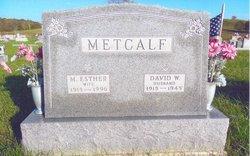 David William Metcalf