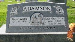 Rose Marie <i>Parker</i> Adamson