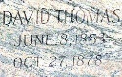 Dr David Thomas Bridgforth