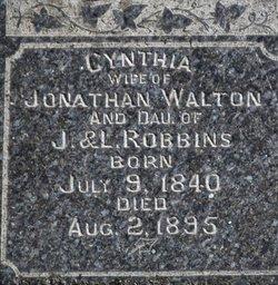 Cynthia <i>Robbins</i> Walton