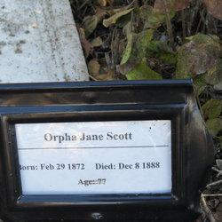 Orpha Jane Orphie Scott