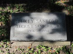 Lucius I. Lukey Sanford, Jr