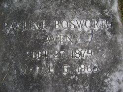 Pauline <i>Bosworth</i> Aven