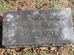 Bertha <i>Amos</i> Adkins