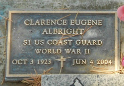Clarence Eugene Curley Albright