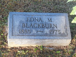 Edna M. <i>Myers</i> Blackburn