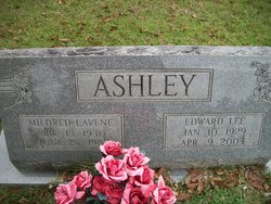 Mildred Lavene <i>Wells</i> Ashley