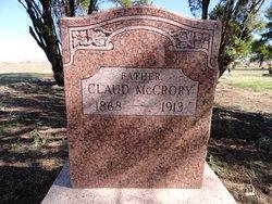 Claudius Franklyn Claud McCrory