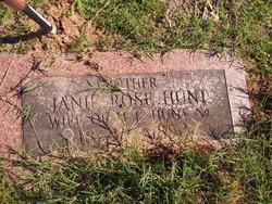 Janie Rose Hunt
