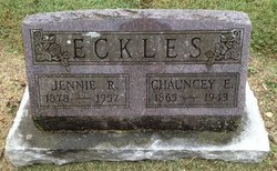 Chauncey E Eckles