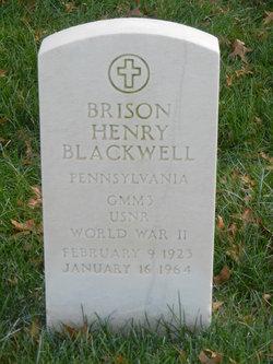 Brison Henry Blackwell