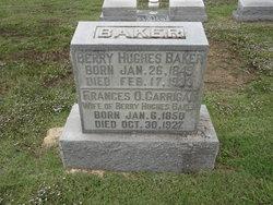 Frances Ophelia <i>Carrigan</i> Baker