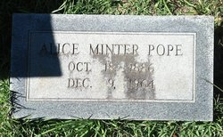 Alice Adelia <i>Minter</i> Pope