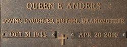 Queen Elizabeth Queenie <i>Hayes</i> Anders