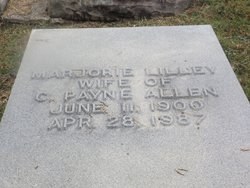 Marjorie Lilley Allen