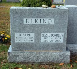 Bessie Dora <i>Abelsky</i> Elkind