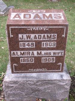 Almira Melissa <i>Harvey</i> Adams