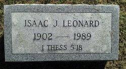 Isaac James Leonard