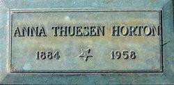 Anne Marie <i>Thuesen</i> Horton