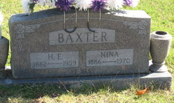 Nina Mollie Belle Christine <i>Stutsman</i> Baxter