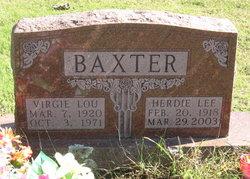 Virgie Lou <i>Trivitt</i> Baxter