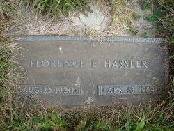 Florence <i>Seaton</i> Hassler