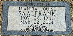 Juanita Louise <i>Westfall</i> Saalfrank