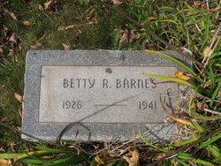 Betty Rebecca Barnes