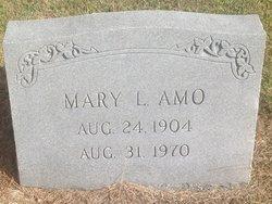 Mary Evelyn <i>Lanning</i> Amo
