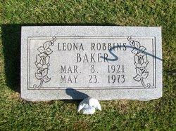 Leona G <i>Robbins</i> Baker