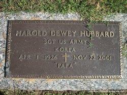 Harold Dewey Hubbard